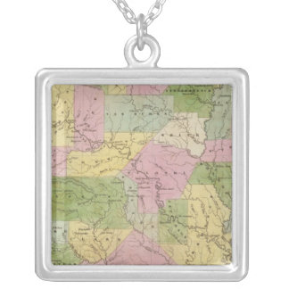 Arkansas 3 silver plated necklace