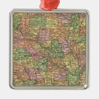 Arkansas 4 christmas ornament