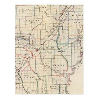 Arkansas 5 postcard