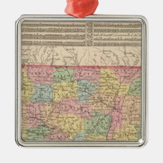 Arkansas 6 christmas ornament