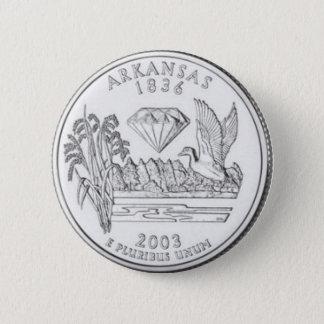 Arkansas 6 Cm Round Badge