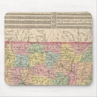 Arkansas 6 mouse mat