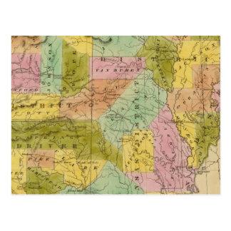 Arkansas 9 postcard