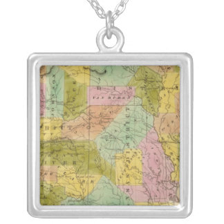 Arkansas 9 silver plated necklace