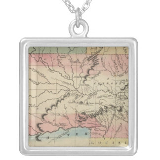Arkansas and Oklahoma region Silver Plated Necklace