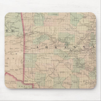 Arkansas and portion of Indian Territory Mouse Mat
