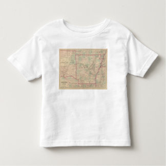 Arkansas and portion of Indian Territory Toddler T-Shirt
