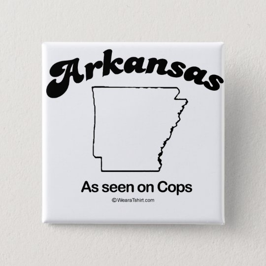 "ARKANSAS - ""ARKANSAS STATE MOTTO"" T-shirts and Gea 15 Cm Square Badge"