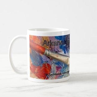 Arkansas Artist Association Big Brush Mug