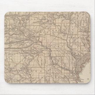 Arkansas Atlas Map Mouse Mat