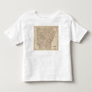 Arkansas Atlas Map Toddler T-Shirt