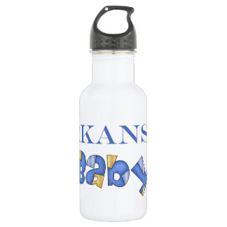 Arkansas Baby (Blue) 532 Ml Water Bottle