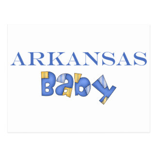 Arkansas Baby (Blue) Postcard