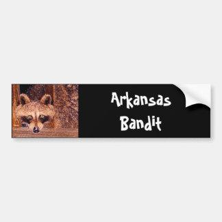 Arkansas Bandit Car Bumper Sticker