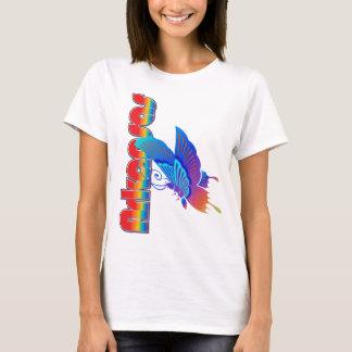 Arkansas bauhaus butterfly shirt