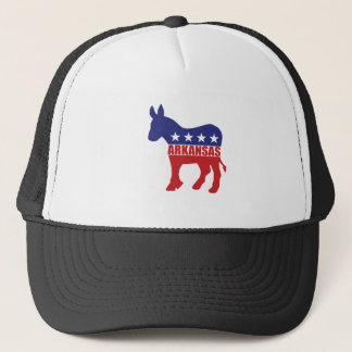 Arkansas Democrat Donkey Trucker Hat