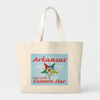 Arkansas Eastern Star Jumbo Tote Bag