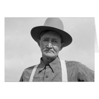 Arkansas Farmer Transplanted to Oregon 1939 Greeting Card