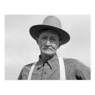 Arkansas Farmer Transplanted to Oregon 1939 Postcard