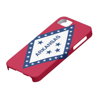 Arkansas Flag Barely There iPhone 5 Case