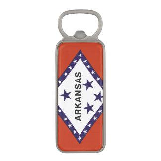 ARKANSAS FLAG MAGNETIC BOTTLE OPENER