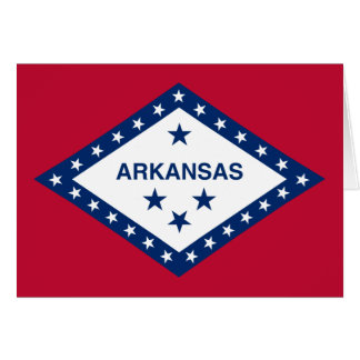 Arkansas Flag Note Card