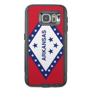Arkansas Flag Otterbox Samsung Galaxy S6 Case