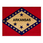 Arkansas Flag Postcard
