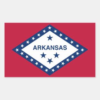Arkansas Flag Rectangular Sticker