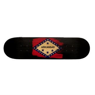 Arkansas Flag Skateboard Deck