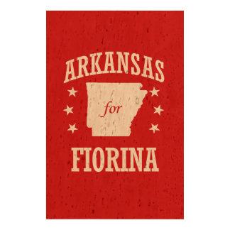 ARKANSAS FOR FIORINA CORK PAPER PRINT