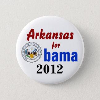 Arkansas for Obama 2012 6 Cm Round Badge