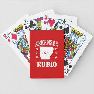 ARKANSAS FOR RUBIO DECK OF CARDS