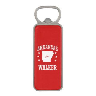 ARKANSAS FOR WALKER MAGNETIC BOTTLE OPENER