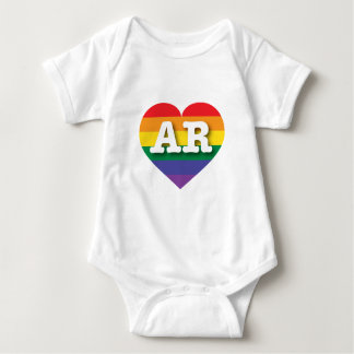 Arkansas Gay Pride Rainbow Heart -  Big Love T-shirt