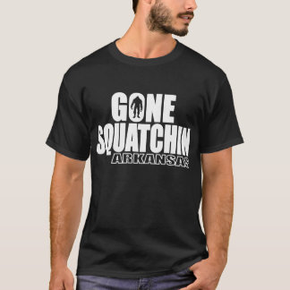ARKANSAS Gone Squatchin - Original Bobo T-Shirt
