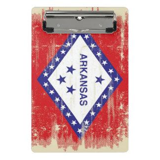 Arkansas grunge Flag Mini Clipboard