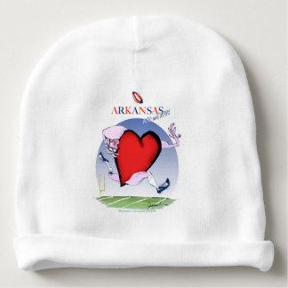 arkansas head heart, tony fernandes baby beanie