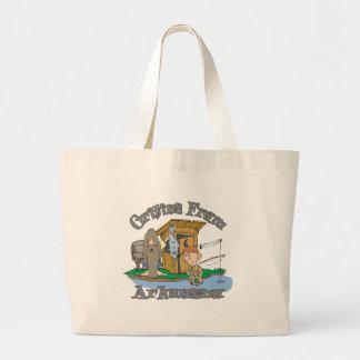 Arkansas Hillbilly Canvas Bag