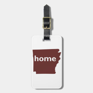 Arkansas Home Luggage Tag