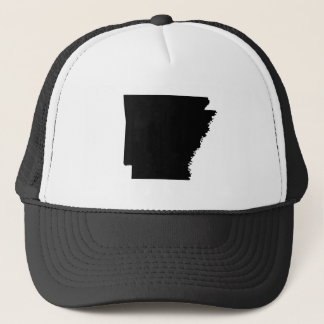 Arkansas in Black Trucker Hat