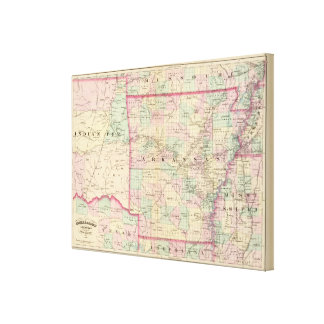 Arkansas, Indian Territory Canvas Print