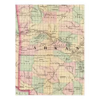 Arkansas, Indian Territory Postcard