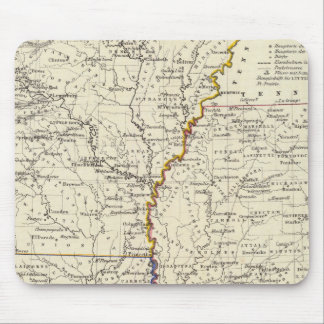 Arkansas, Louisiana and Mississippi Mouse Mat
