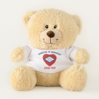 Arkansas Loves You Teddy Bear