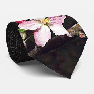 Arkansas, Michigan Apple Blossom Tie