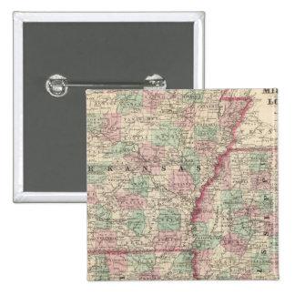 Arkansas, Mississippi, and Louisiana 15 Cm Square Badge