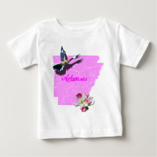Arkansas Mockingbird & Apple Blossom Baby T-Shirt