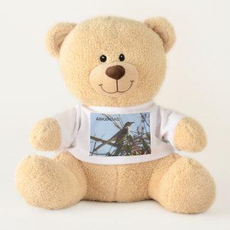Arkansas Mockingbird Teddy Bear