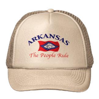 Arkansas Motto Mesh Hats